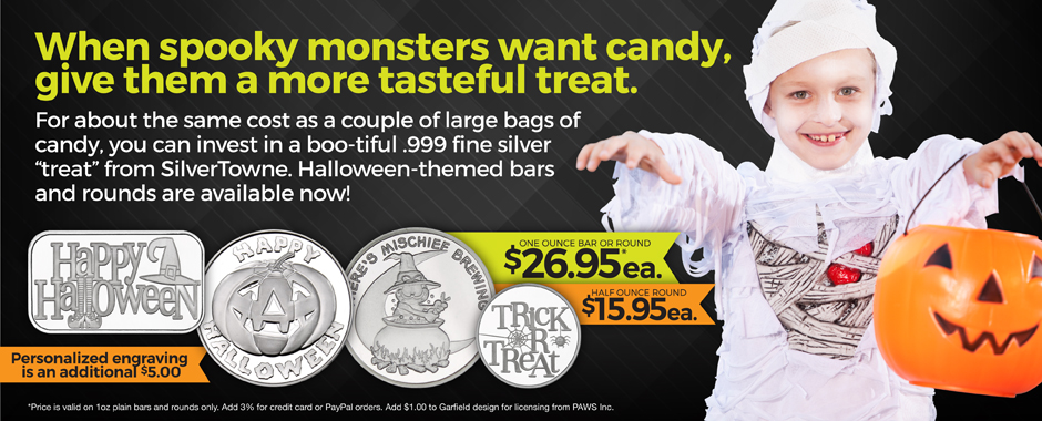 SilverTowne Halloween Silver Now Available!