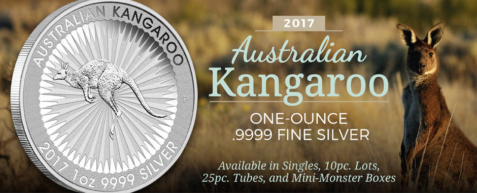 2017 Australian Perth Mint .9999 Fine Silver Kangaroos Officially Released!