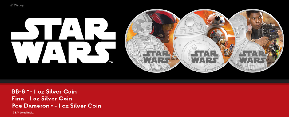 2016 Niue Silver Star Wars