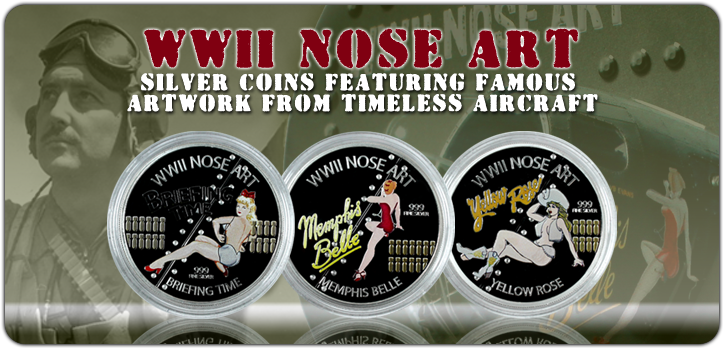 Nose Art Coins