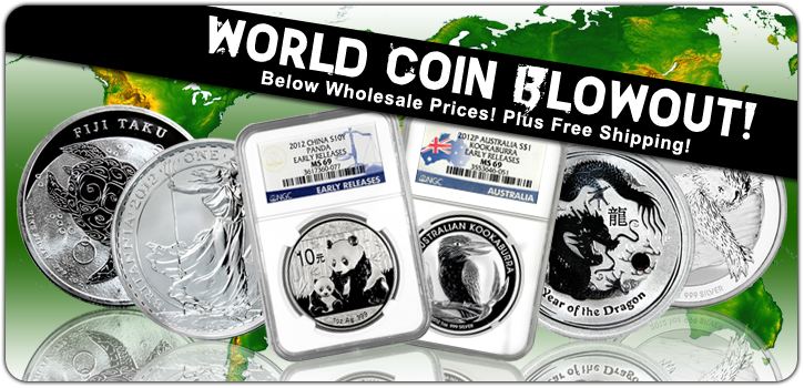 World Coin Blowout