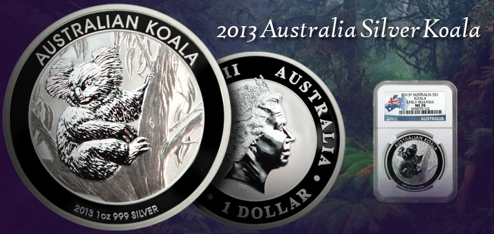 2013 Australia Silver Koalas