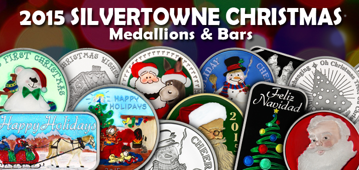 SiverTowne Minted Christmas Designs