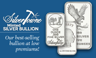 Custom Minted Silver by the SilverTowne Mint!