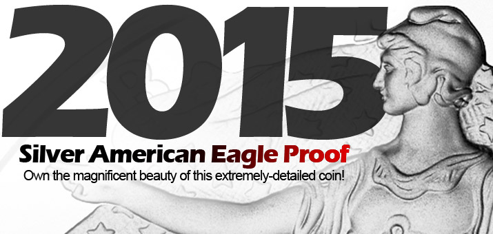 Pre-Order 2015 W Proof Silver American Eagles