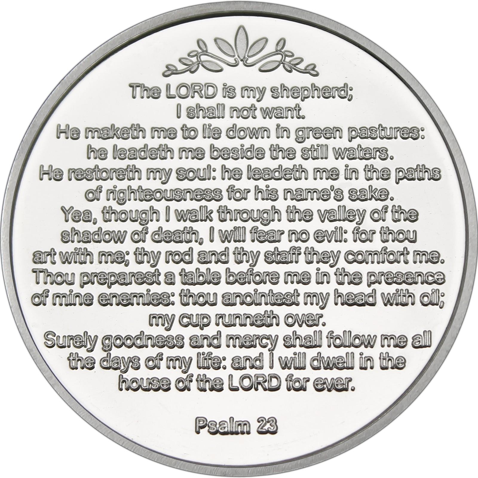 23rd Psalm 1oz 999 Fine Silver Round Religious Box Ebay