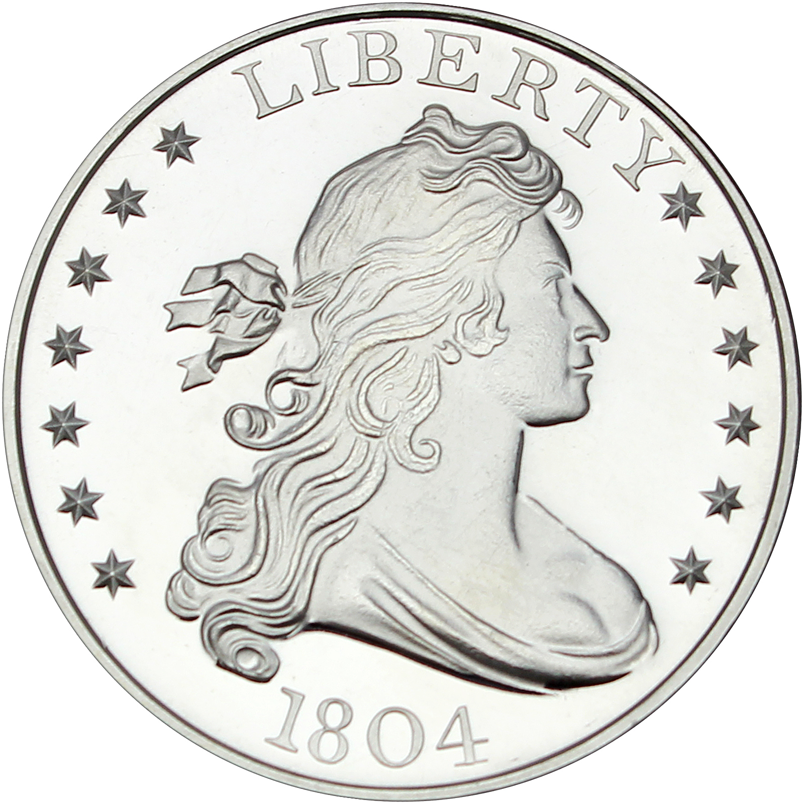 1804 1 1oz 999 Silver Medallion By Silvertowne 5pc