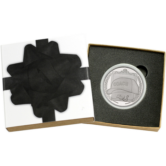 Coach 1oz .999 Silver Medallion
