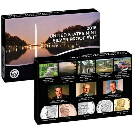2016 S 13pc Silver Proof Set