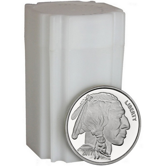 2017 Buffalo Replica 1oz .999 Silver Medallion 20pc