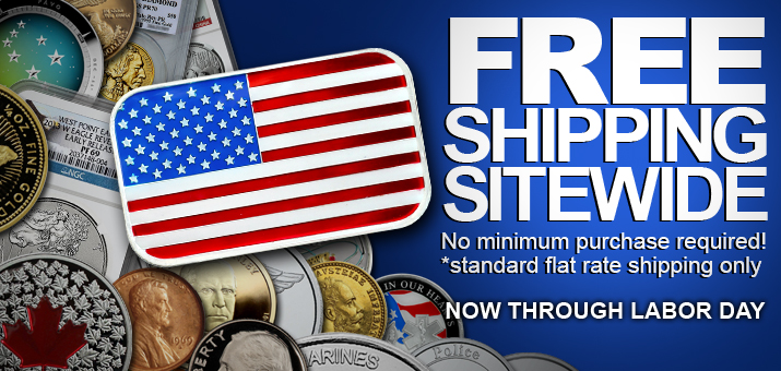 Labor Day Weekend Site-Wide Free Shipping!