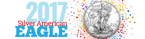 2017 Silver American Eagle BU - Raw Now Shipping!
