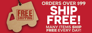 Free Shipping On Orders $99 & Up - Domestic US