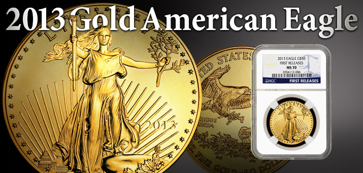 2013 Gold American Eagles