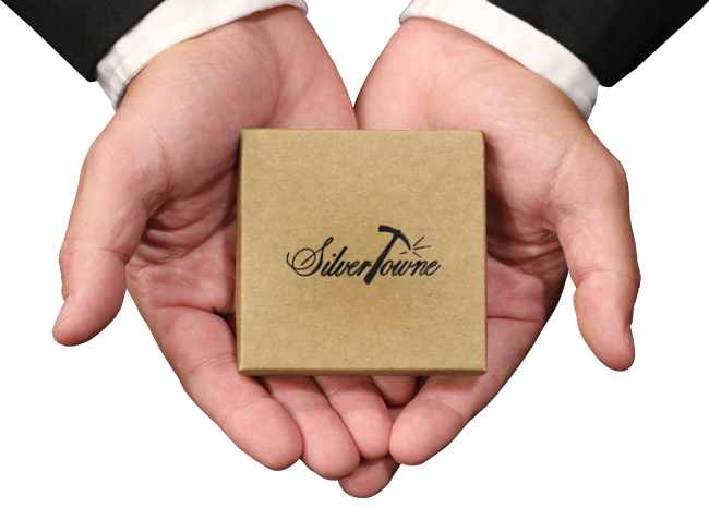 SilverTowne Logo Kraft Gift Boxes for Single Piece Gifts