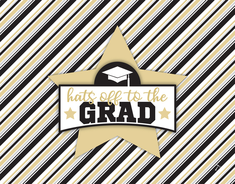 Graduation Gift Box Sleeve for 2 Piece Sets