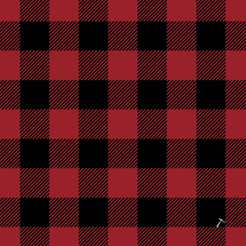 Buffalo Plaid Gift Box Sleeve