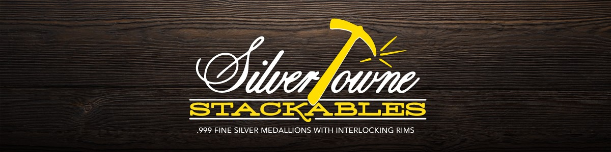 SilverTowne Minted Silver Stackables Silver Rounds