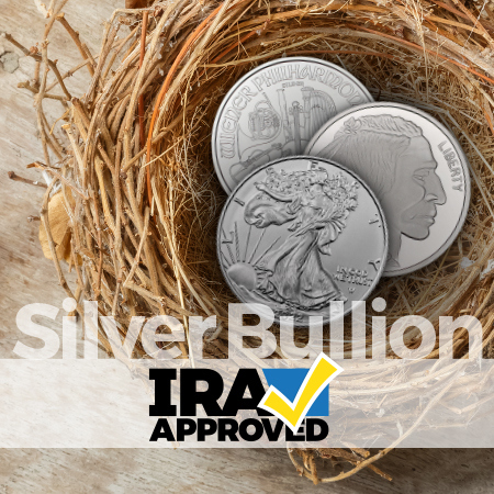IRA Approved Silver