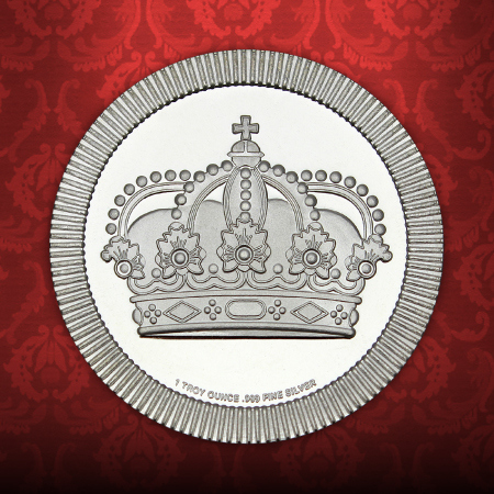 Crown Stackables 1 Ounce Silver Rounds