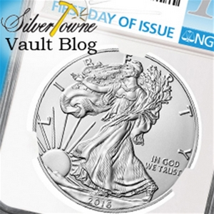 2016 W Burnished Silver American Eagles Released