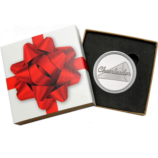 Cheerleader 1oz .999 Silver Medallion