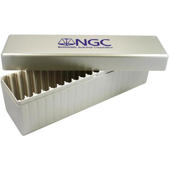 NGC Plastic Storage Box for NGC Certified Coins