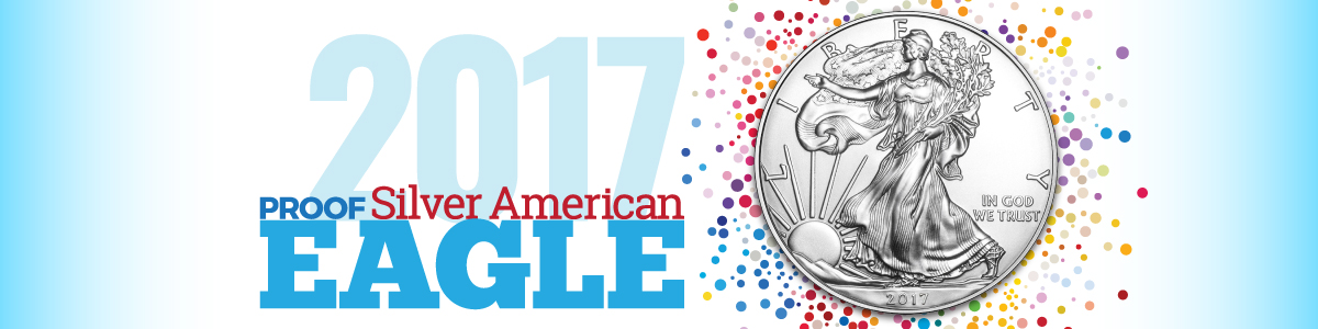 2017 Proof Silver American Eagle Coins