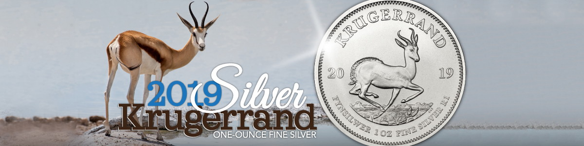 2019 Silver Krugerrand BU Coins Available