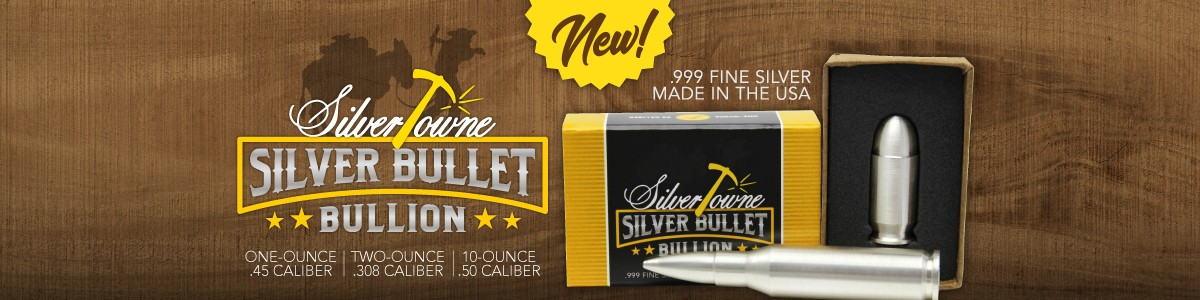 SilverTowne Minted Silver Bullet Replicas Just Launched!