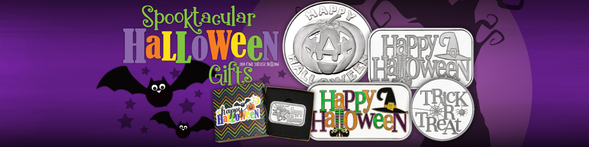 Halloween Silver Rounds and Bars