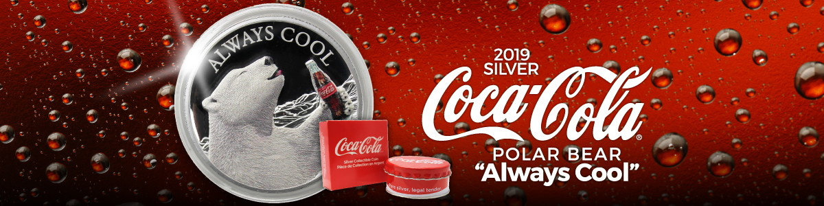 Officially Licensed Coca-Cola® Silver Coins