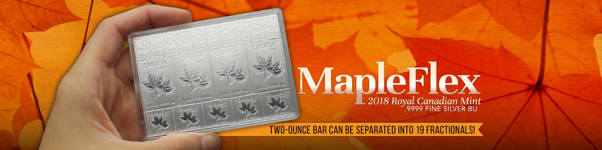 Canadian Silver Maple Flex Bars | 2 Ounce Total