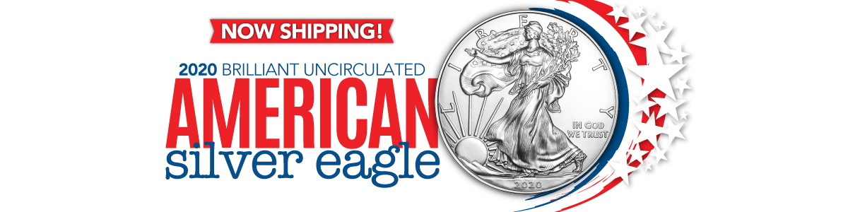 Now Shipping! 2020 Silver American Eagle BU Raw and Certified Coins!