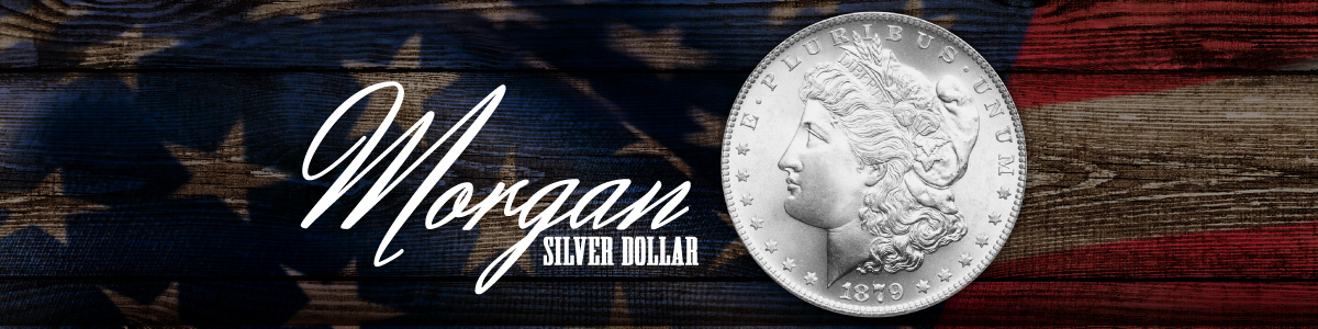 Morgan Silver Dollar Coins 1878-1921