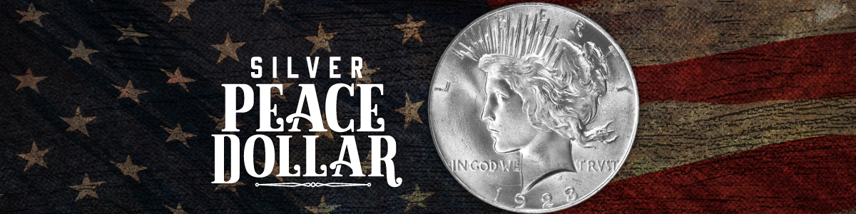 Peace Silver Dollars | Numismatic Silver Coins