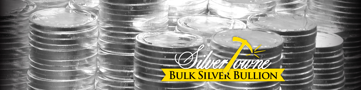 SilverTowne Bulk Silver Ounce Lots at Lower Premiums