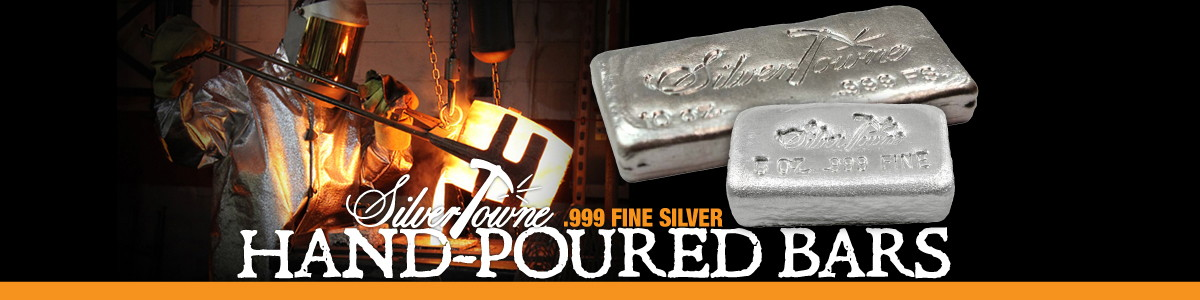 SilverTowne Poured Silver Bars