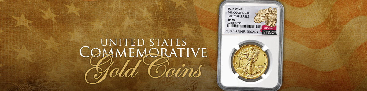 United States Mint Gold Commemorative Coins