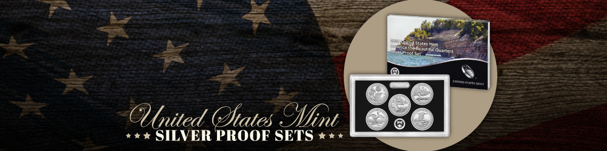Annual United States Silver Proof Coin Mint Sets