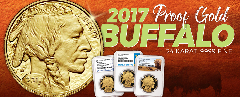 2017 West Point Proof American Gold Buffaloes