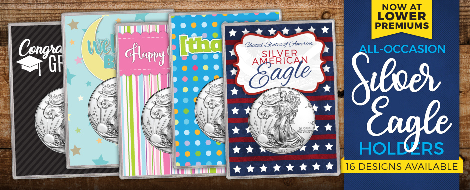 Silver American Eagle Gift Holders - All Occasion Gifts!