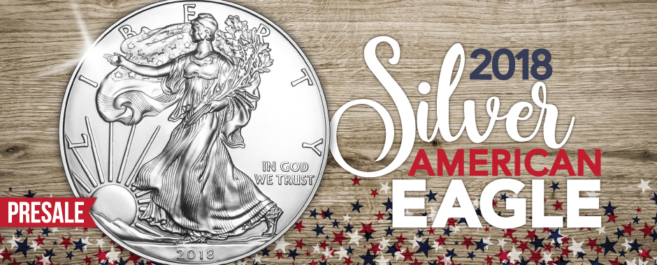 2018 Silver American Eagle BUs, Pre-Sale Raw and Certified