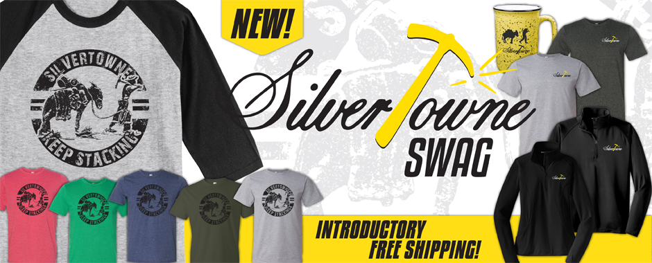 New Official SilverTowne SWAG!  Merchandise and Apparel!