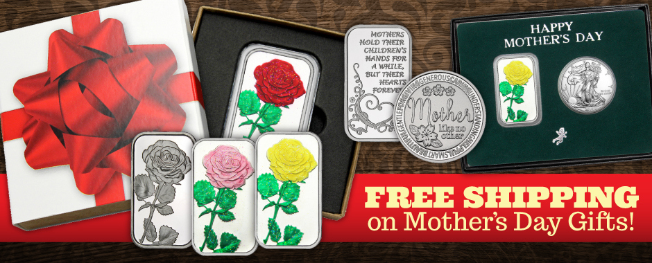 Mother's Day Silver Gifts Ship Free!
