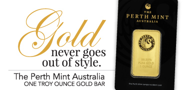 1oz Australian Perth Mint Gold Bars