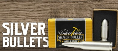 Silver Bullet Bullion Custom Minted by the SilverTowne Mint!
