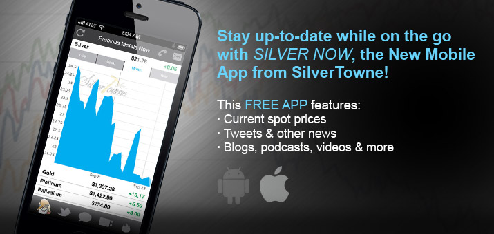 SilverTowne Mobile App Silver Now