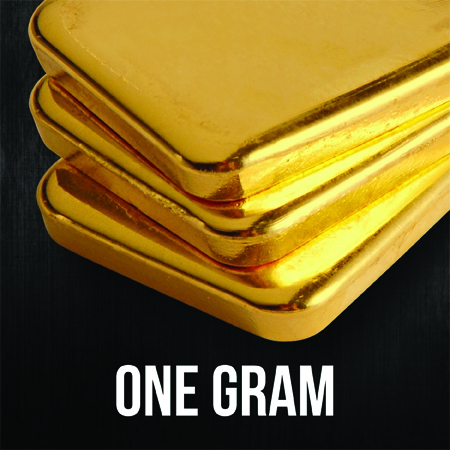 1 Gram Gold Bullion Bars