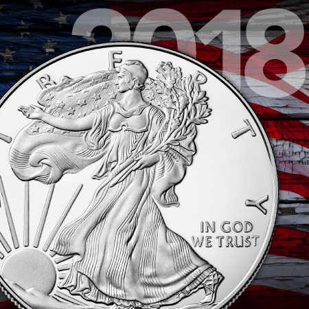 2018 Proof Silver American Eagle Coins